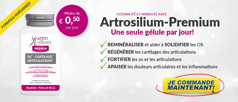 Artrosilium Premium 60 Gélules | Silicium Organique